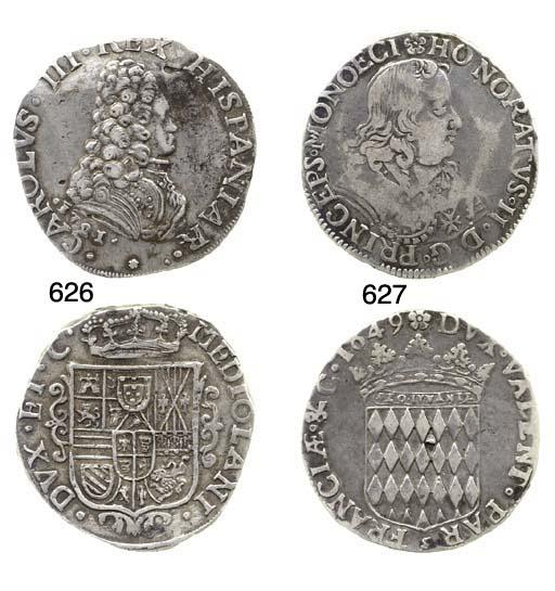 Carlo III (1707-40), Filippo,