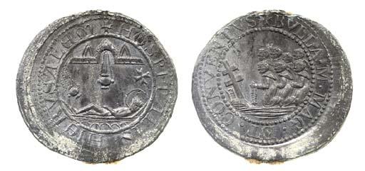 Bolla in piombo, c.1400-1500s,