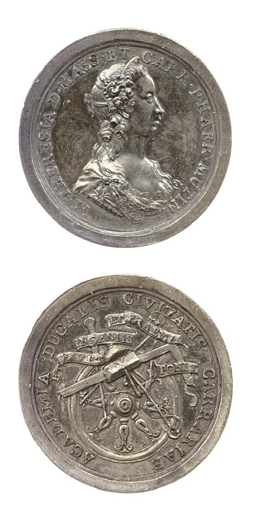 Carrara, premio in argento, 36