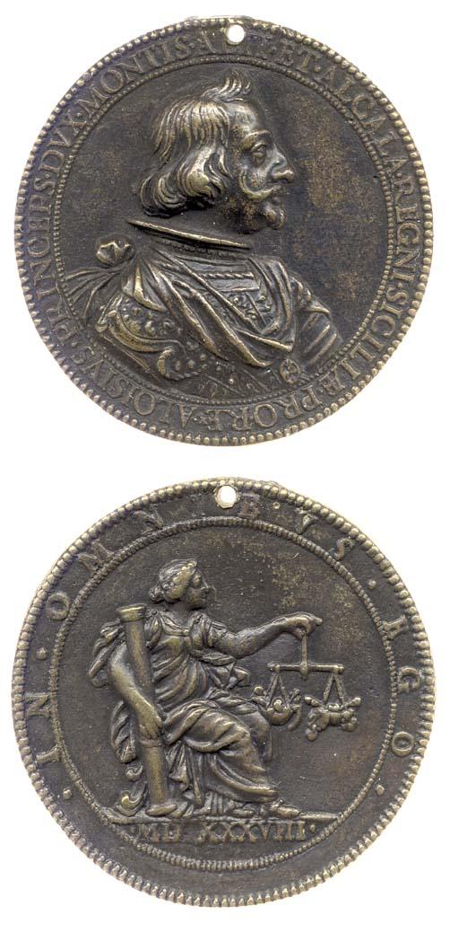 Aloisius, Duca di Montis, 1538