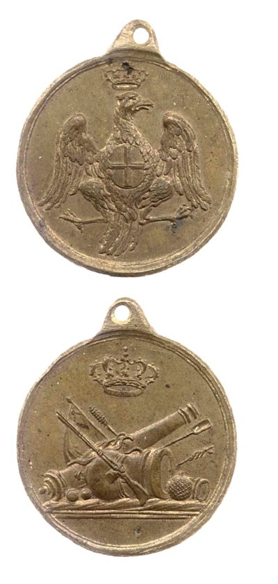 Distintivi in bronzo (5), incl