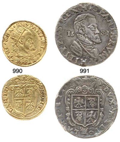 Doppia, 1582, 6.560g., come pr