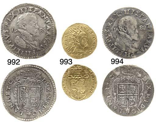 Doppia, 1588, 6.610g. (CNI.258