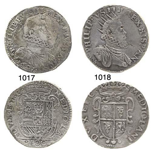 Denaro da 100-Soldi, 1607, 27.