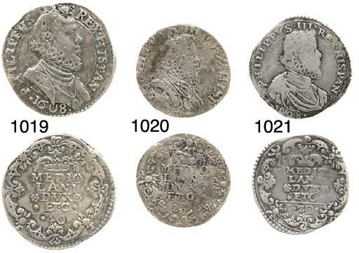 40-Soldi, 1608, 11.0g., busto