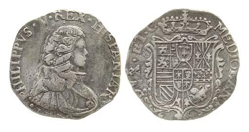Filippo, 1702, 27.544g., busto