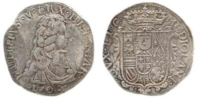 Filippo, 1702, 27.740g., come