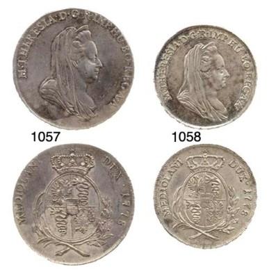 Scudo, 1778 (CNI.398,109; Cr.3