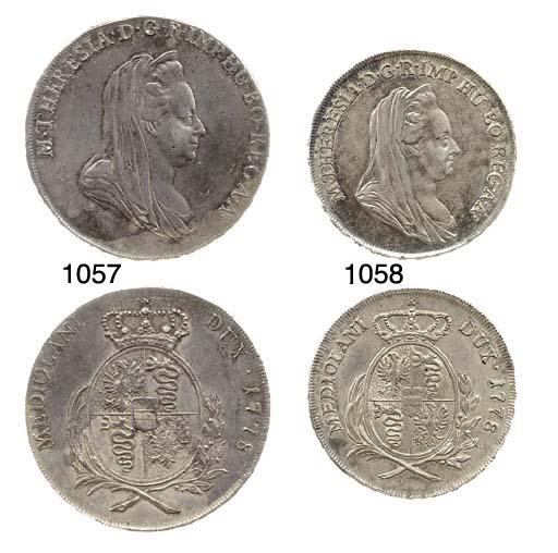 Mezzo Scudo, 1778 (CNI.398, 11
