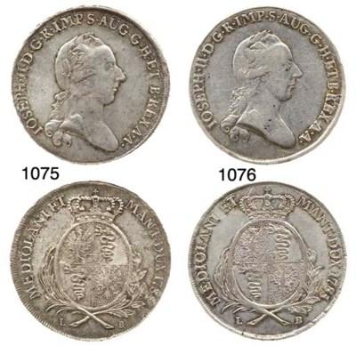 Lotto di 4 monete, Scudo, Mezz