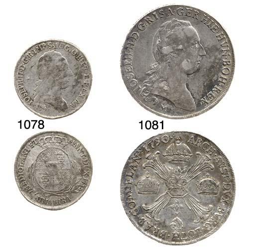 Lotto di 3 monete, Crocione, 1