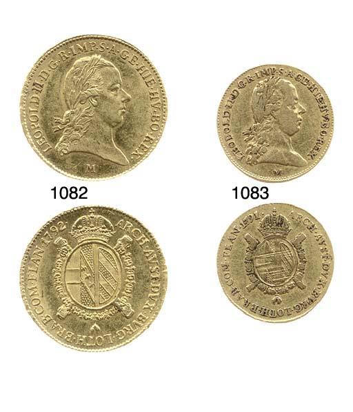 Mezzo Sovrano, 1791 (CNI.410,5