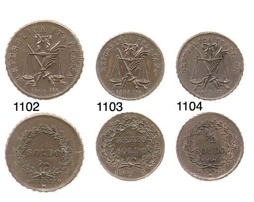Soldo, 1804, bilancia, dietro