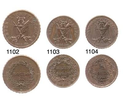 Mezzo Soldo, 1804, come prec.,