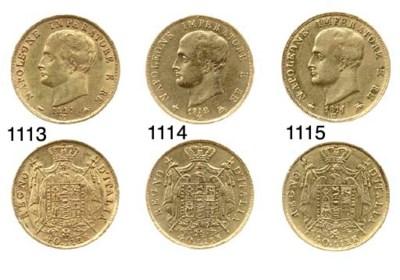 40-Lire, 1811/10, come prec. (