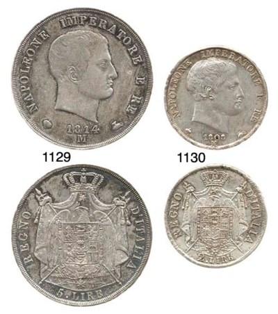 5-Lire, 1814 (CNI.431,116; Cr.