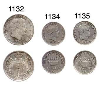 15-Soldi, 1809, testa a destra