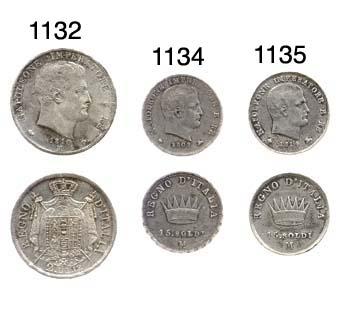 15-Soldi, 1808, testa a destra