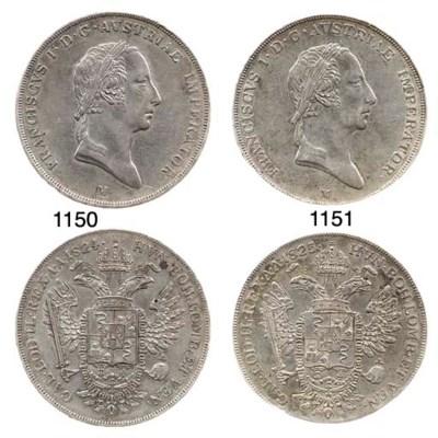 Scudo nuovo, 1825, come prec.