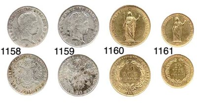 40-Lire, 1848, L'Italia, in pi