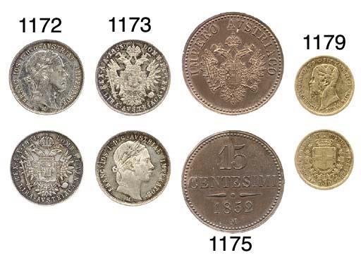 Lira austriaca, 1855, come pre