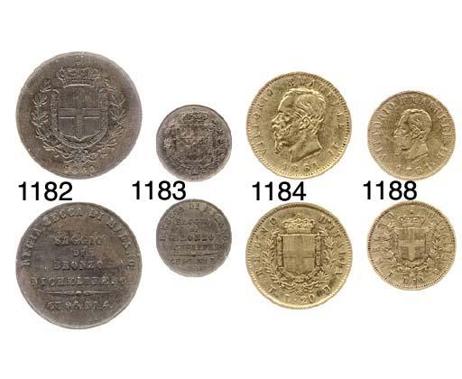 20-Lire, 1861, T su F (Pag.455