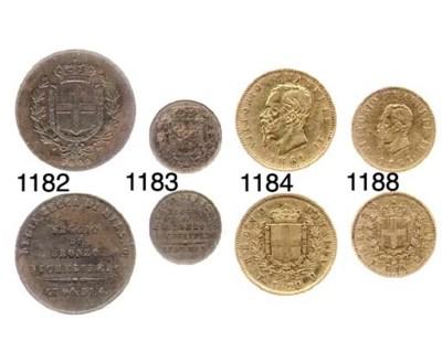 10-Lire, 1861, Torino, testa p