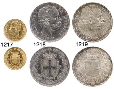 20-Lire, 1884 (Pag.580), minim