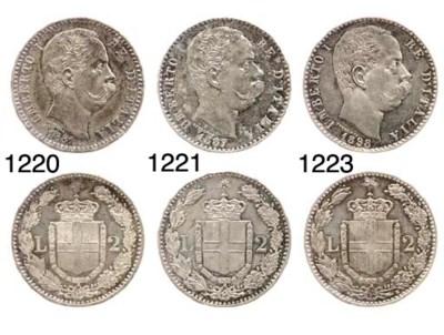 2-Lire, 1881, Roma (Pag.591),