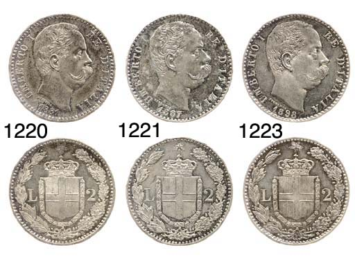 2-Lire, 1898, Roma (Pag.599),