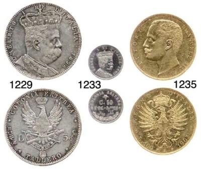 100-Lire, 1903, rov. aquila sa
