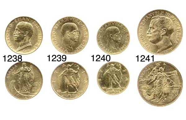 100-Lire, 1937 XVI, rov. litto