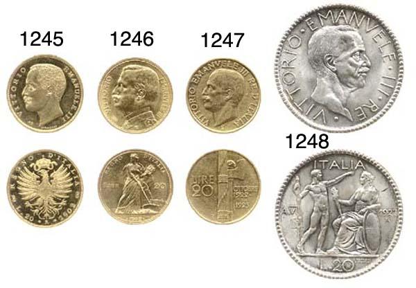 20-Lire, 1927 VI, AR, rov. un