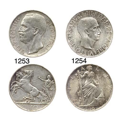 10-Lire, 1936 XIV, Impero (Pag
