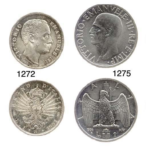 Ni. 1-Lira, 1936 XIV, Impero (