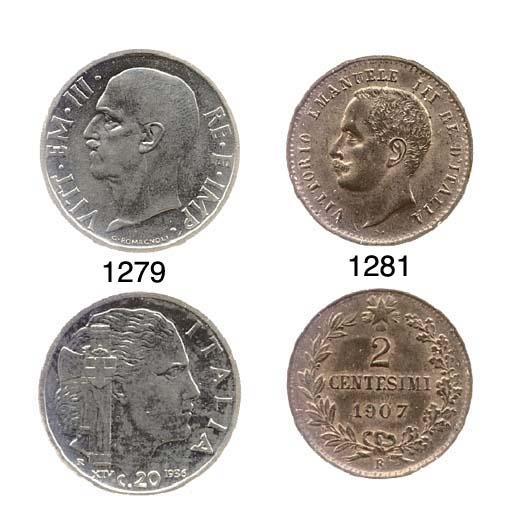 20-Centesimi, 1936, Impero (Pa