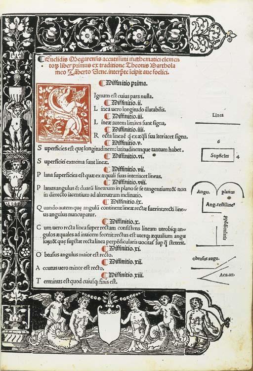 EUCLIDE. Euclidis Megarensis P