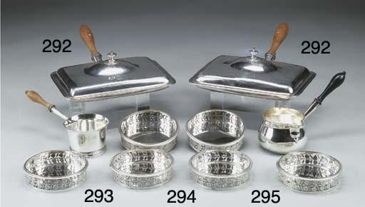 Saucepan in argento