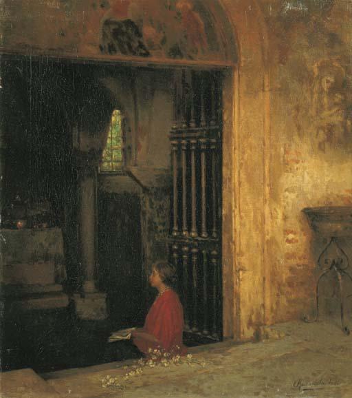 Rubens Santoro (Italia 1859-19