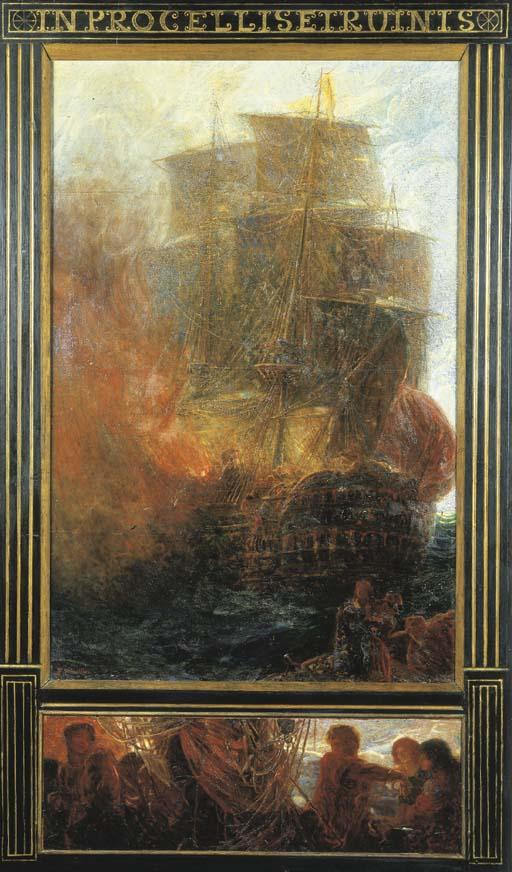 Plinio Nomellini (Italia 1866-