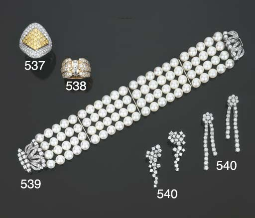 Bracciale in perle coltivate e