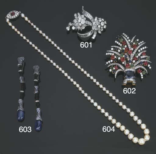 Collana in perle naturali con