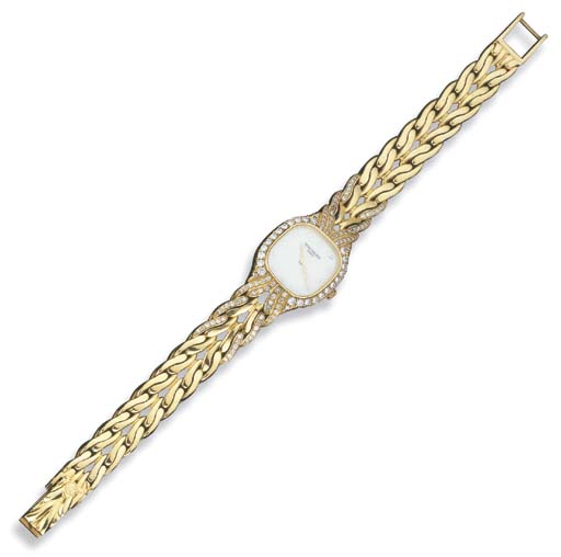 Orologio in oro e diamanti, Pa