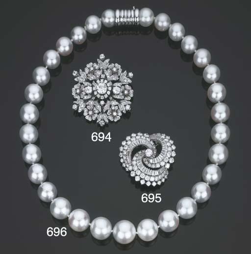 Collana in perle coltivate aus