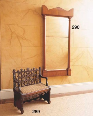 A FRENCH STAINED BEECH METAMOR