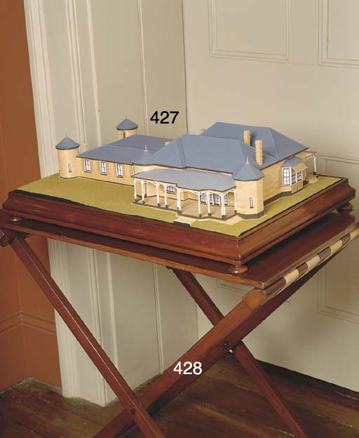A MODEL OF BRONTE HOUSE