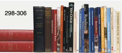 A collection of books on art a