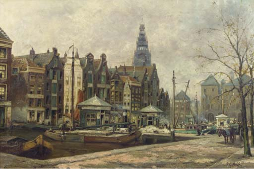 Jan Gerard Smits (Dutch, 1823-