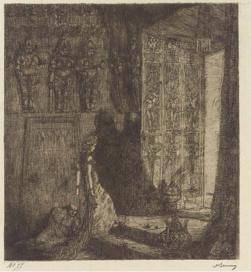 (10) Marius Bauer (Dutch, 1867