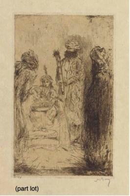 (12) Marius Bauer (Dutch, 1867